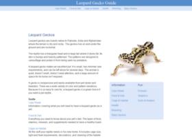 Leopard Gecko Senses