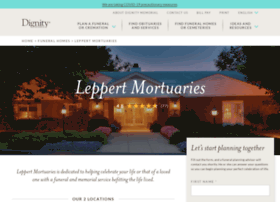 leppertmortuary.com