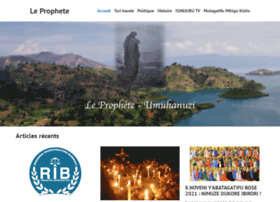 Le Prophete Umuhanuzi