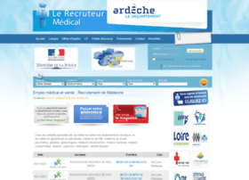 lerecruteurmedical.com