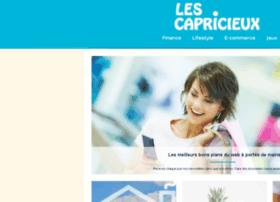 les-capricieux.fr