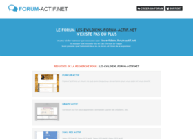 les-evildiens.forum-actif.net