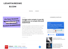 lesaffairesweb.com
