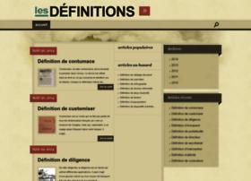 lesdefinitions.fr