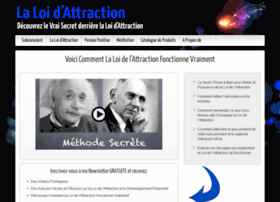 lesecretdelaloidattraction.com
