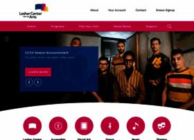 lesherartscenter.org