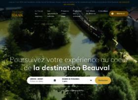 leshotelsdebeauval.com