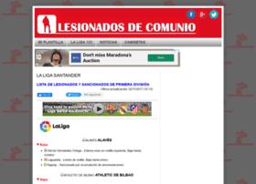 lesionadosdecomunio.blogspot.co.uk