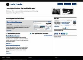 lesliefranke.com
