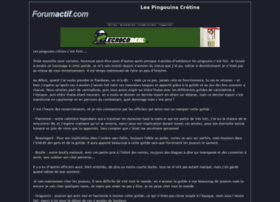 lespingouins.forumactif.com