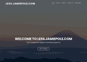less.jamiepole.com