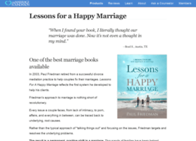 lessonsforahappymarriage.com