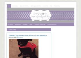 lessonsfromaparalyzeddog.com