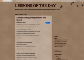 lessonsoftheday.com