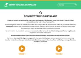 letcatalansvote.org