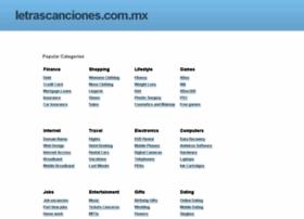 letrascanciones.com.mx
