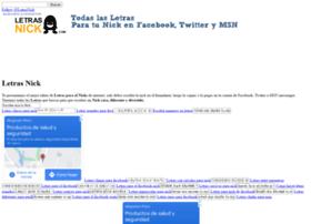 letrasnick.com