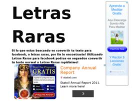 letrasraras.com.ar