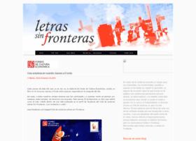 letrassinfronteras-fce.blogspot.com