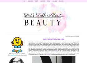 lets-talk-about-beauty.blogspot.com