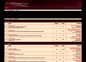 letsplaysociety.boards.net
