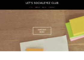 letssocialeyezclub.com
