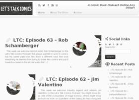 letstalkcomics.com