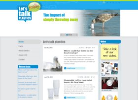 letstalkplastics.com