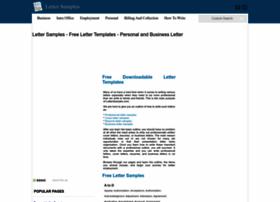 Letter-samples.com