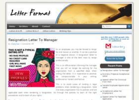 letterformat.net