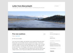 letterfromaberystwyth.co.uk