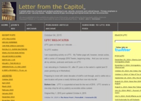 letterfromthecapitol.com