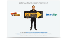 lettersandnumbers.com