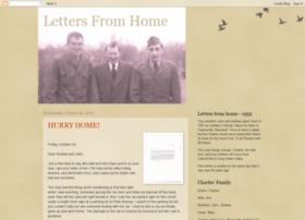 lettersfromhome1952.blogspot.com