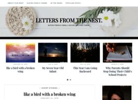 lettersfromthenest.com