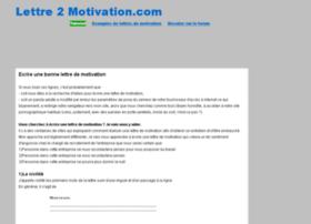 lettre2motivation.com