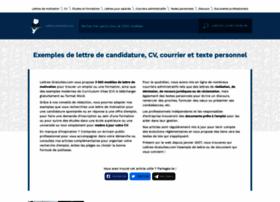 lettres-gratuites.com