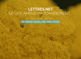 lettres.net