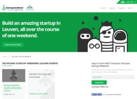 leuven.startupweekend.org