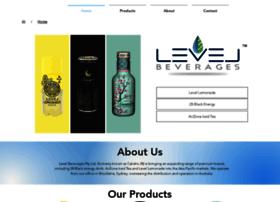 levelbeverages.com