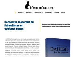 levrier-editions.com