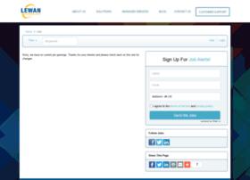 lewan.applicantpool.com