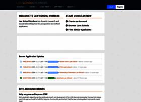 lewisandclark.lawschoolnumbers.com