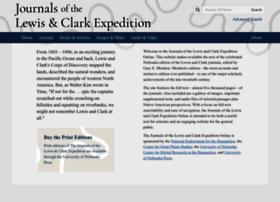 lewisandclarkjournals.unl.edu