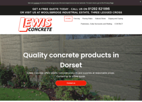 lewisconcrete.co.uk