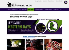 lewisvillewesterndays.com