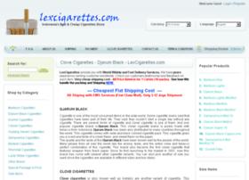 lexcigarettes.com