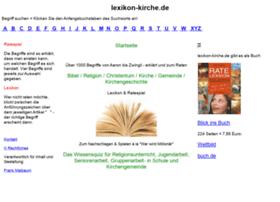 lexikon-kirche.de