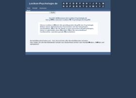 lexikon-psychologie.de