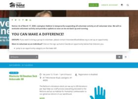 lexingtonhabitat.volunteerhub.com